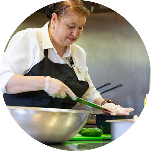 Chef Grace at Serenity View