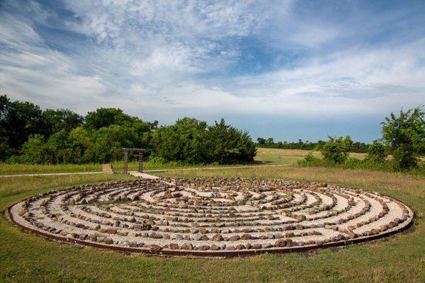 Serenity View labyrinth