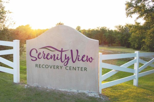 Serenity View entrance sign