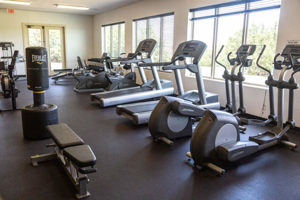 Serenity View workout room